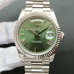 New Best Swiss Made Rolex Day-Date II 228239 Green Dial 1:1 Mirror Quality SRDD126