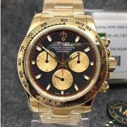 Swiss Replica Rolex Daytona 116508-0009 Yellow Gold Case and Dial 1:1 Mirror Quality SRDT018