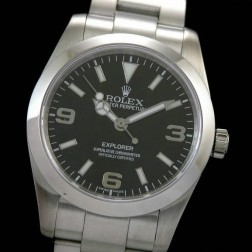 Best Replica Rolex Explorer 214270-77200 Black Dial Swiss Movement 1:1 Mirror Quality SRE001