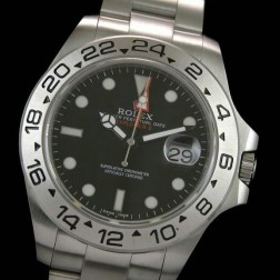 Best Replica Rolex Explorer II 216570-77210 Black Dial Swiss Movement 1:1 Mirror Quality SRE002