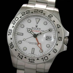 Best Replica Rolex Explorer II 216570-77210 White Dial Swiss Movement 1:1 Mirror Quality SRE003