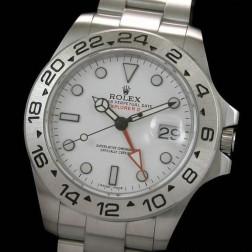 Best Replica Rolex Explorer II 216570-77210 White Dial Swiss Movement 1:1 Mirror Quality SRE003