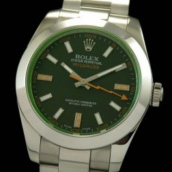 Best Replica Rolex Milgauss Black Dial Swiss Movement 1:1 Mirror Quality SRM001