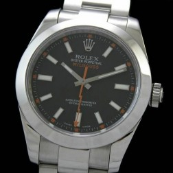 Best Replica Rolex Milgauss Black Dial Swiss Movement 1:1 Mirror Quality SRM002
