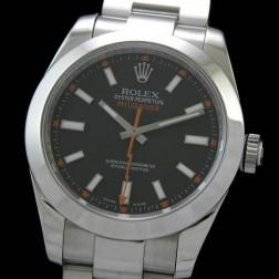 Best Replica Rolex Milgauss Black Dial Swiss Movement 1:1 Mirror Quality SRM002