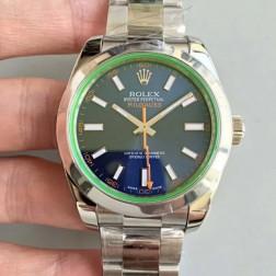 Best Replica Rolex Milgauss Blue Dial Swiss Movement 1:1 Mirror Quality SRM005