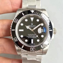 Swiss Made New Replica Rolex Submariner 1:1 Mirror 116610LN-97200 Black Dial SRS001