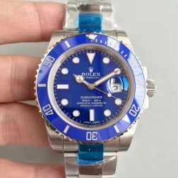 Swiss Made New Replica Rolex Submariner 1:1 Mirror 116610LN-97200 Blue Dial SRS002