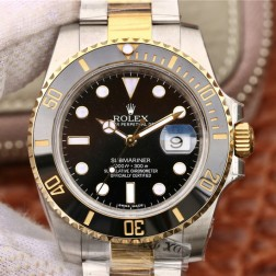 Swiss Made New Replica Rolex Submariner 1:1 Mirror 116713-LN-78203 Black Dial SRS003