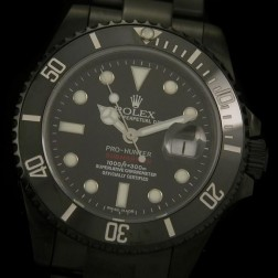 Swiss Made New Replica Rolex Submariner 1:1 Mirror PVD Case Black Dial SRS005