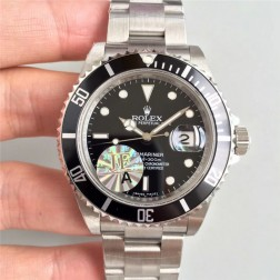 Swiss Made New Replica Classical Rolex Submariner 16610LV-93250 Black Dial 1:1 Mirror SRS007