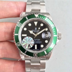 Swiss Made New Replica Classical Rolex Submariner 16610LV-93250 Black Dial 1:1 Mirror SRS008