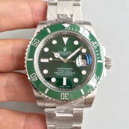 Swiss Made New Replica Rolex Submariner 116610LV-97200 Green Dial 1:1 Mirror SRS101