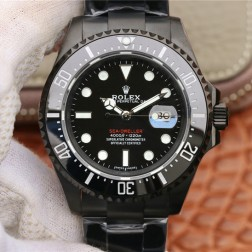 New Rolex Sea-Dweller 1:1 Mirror Black Dial PVD Case Top End Quality Genuine Swiss Movement SRSD003