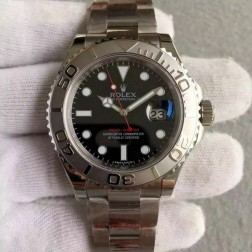 Swiss Made Replica Rolex Yacht-Master 116622 Black Dial 1:1 Mirror Best Quality SRY002