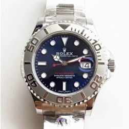 Swiss Made Replica Rolex Yacht-Master 116622 Blue Dial 1:1 Mirror Best Quality SRY006