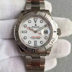 Swiss Made Replica Rolex Yacht-Master 116622 White Dial 1:1 Mirror Best Quality SRY008