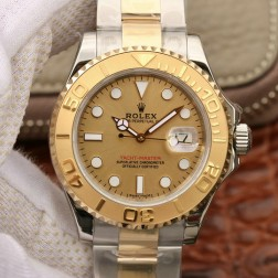 Swiss Made Replica Rolex Yacht-Master 168623 Yellow Gold Dial Two Tone Watch 1:1 Mirror SRY009