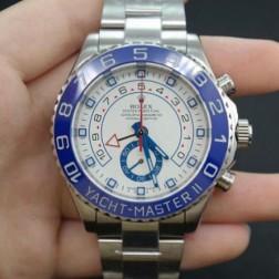 New Swiss Made Replica Rolex Yacht-Master II 116680-78210 Blue Bezel 1:1 Mirror Quality SRY017