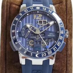 Swiss Made 1:1 Mirror Best Replica Ulysse Nardin El Toro/Black Toro Watch Blue Dial SUN001