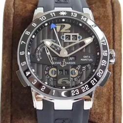 Swiss Made 1:1 Mirror Best Replica Ulysse Nardin El Toro/Black Toro Watch Black Dial SUN002